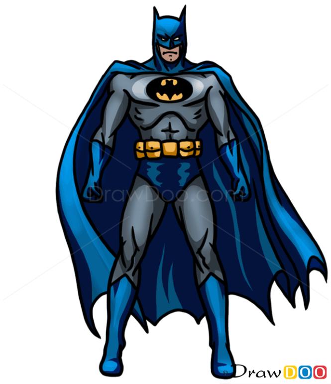 How to Draw Batman, Superheroes