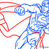 How to Draw Superman, Superheroes