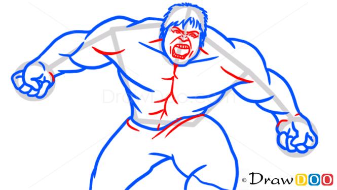 How to Draw Hulk, Superheroes