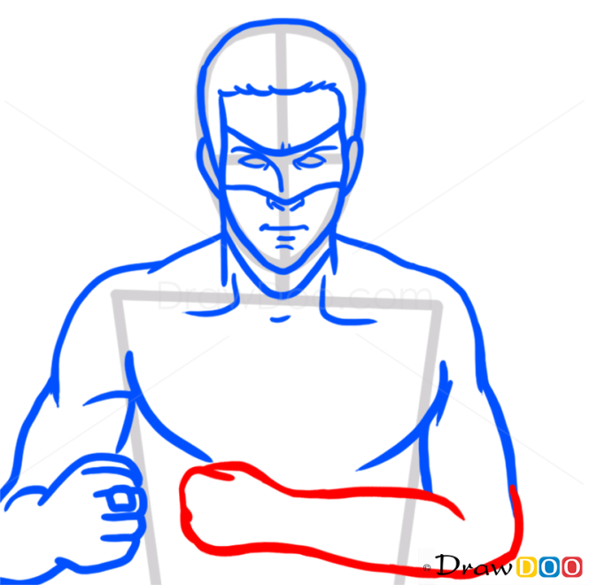 How to Draw Green Lantern, Superheroes