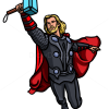 How to draw thor superheroes