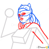 How to Draw Cat woman, Superheroes
