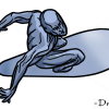 How to Draw Silver Surfer, Superheroes