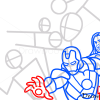 How to Draw Avengers, Superheroes