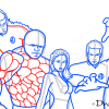 How to Draw Phantastic Four, Superheroes
