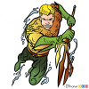 How to Draw Aquaman, Superheroes