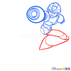 How to Draw Megaman, Superheroes