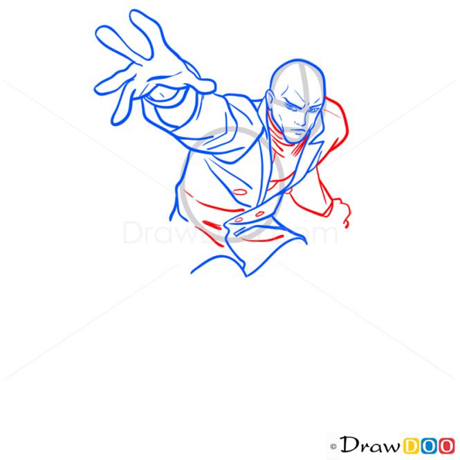How to Draw Professor X, Superheroes