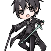 How to Draw Kirito Chibi, Sword Art Online