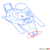 How to Draw Light Tank, MC-1, Tanks