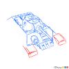 How to Draw Medium Tank, T-34, Tanks