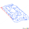 How to Draw Heavy Tank, KV-2, Tanks