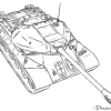 Cool Tank Drawings How to Draw Heavy Tank Is-3