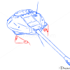 How to Draw Heavy Tank, IS-3, Tanks