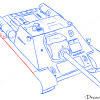 How to Draw Assault gun, SU-85, Tanks