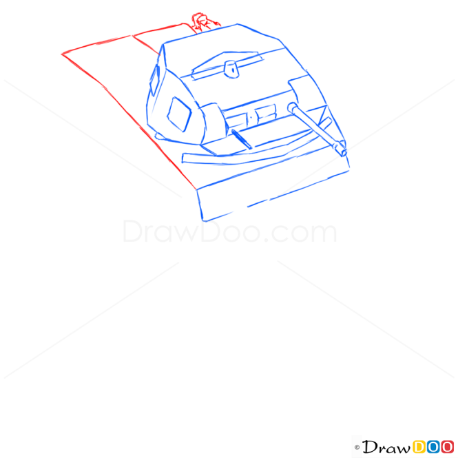 How to Draw Light Tank, PzKpfw II, Tanks