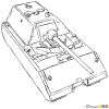 Cool Tank Drawings How to Draw Heavy Tank Maus