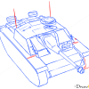 How to Draw Assault gun, StuG III, Tanks