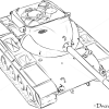 How to Draw Medium Tank, T69, Tanks