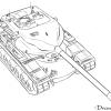 How to Draw Heavy Tank, T57/58, Tanks