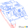 How to Draw Assault Gun, M7 HMC Priest, Tanks