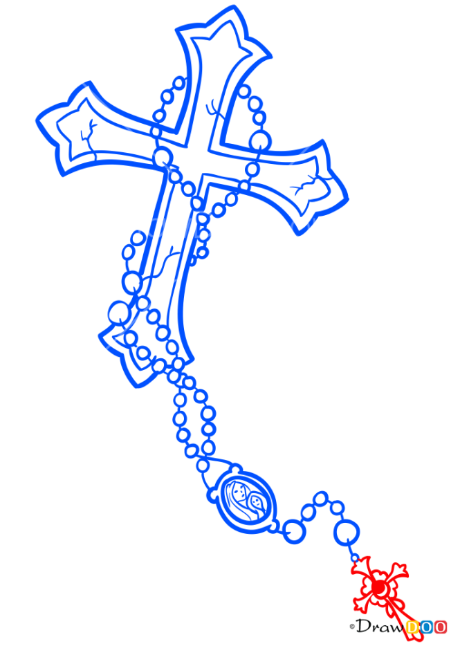 How to Draw Cross, Tattoo Criminal