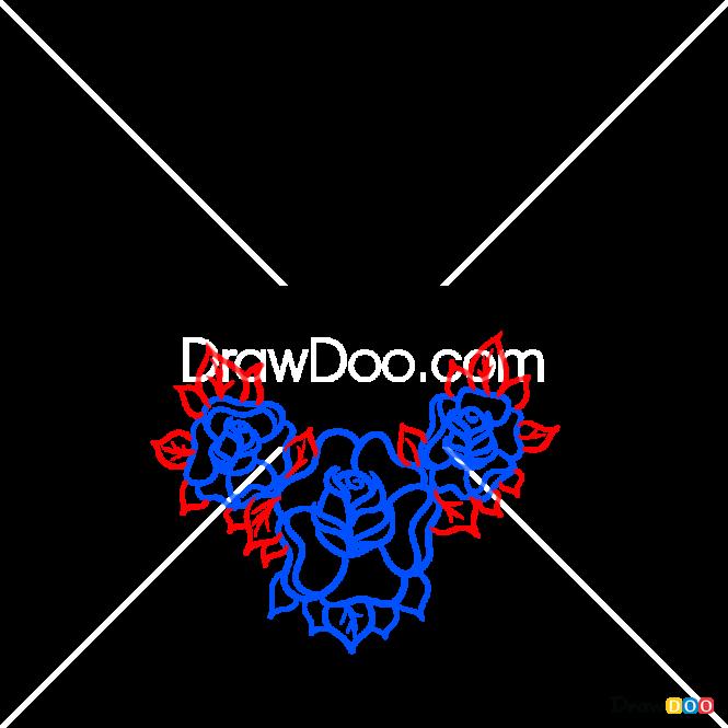 How to Draw Diamond, Tattoo Old School