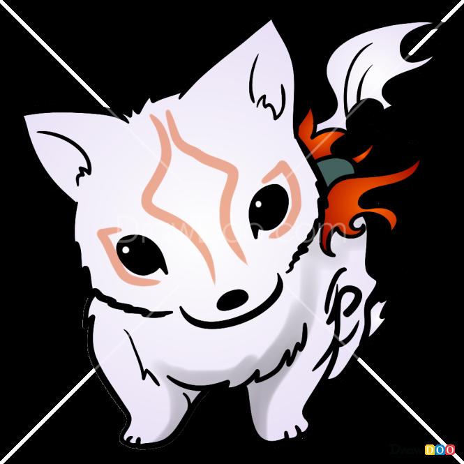 How to Draw Chibi Wolf, Tattoo Wolfs