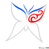How to Draw Butterfly, Tattoo Designs