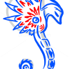 How to Draw Seahorse, Tattoo Designs