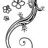 How to Draw Lizard, Tattoo Designs