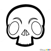 How to Draw Alien Skull, Tattoo Skulls