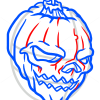 How to Draw Halloween Skull, Tattoo Skulls