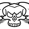 How to Draw Triple Skull, Tattoo Skulls