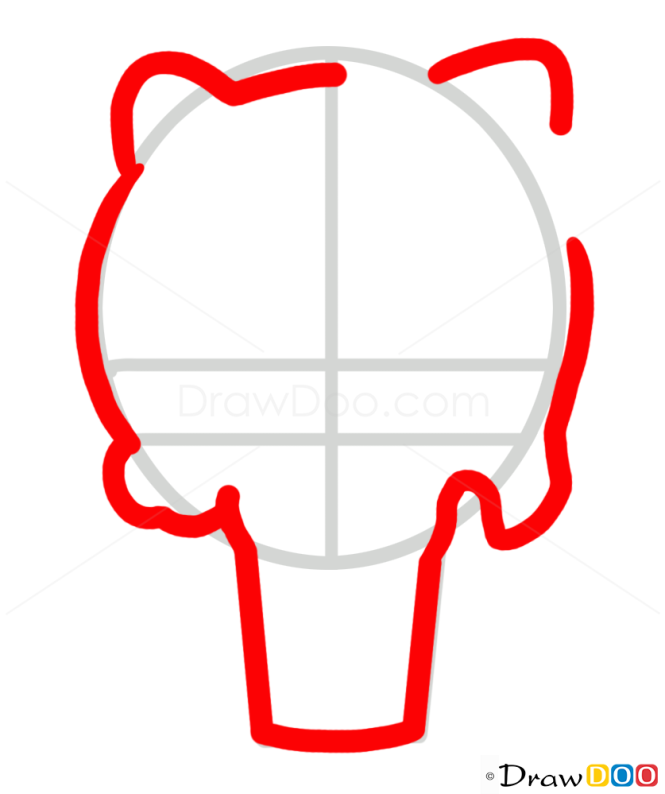 How to Draw Hello Kitty Skull, Tattoo Skulls