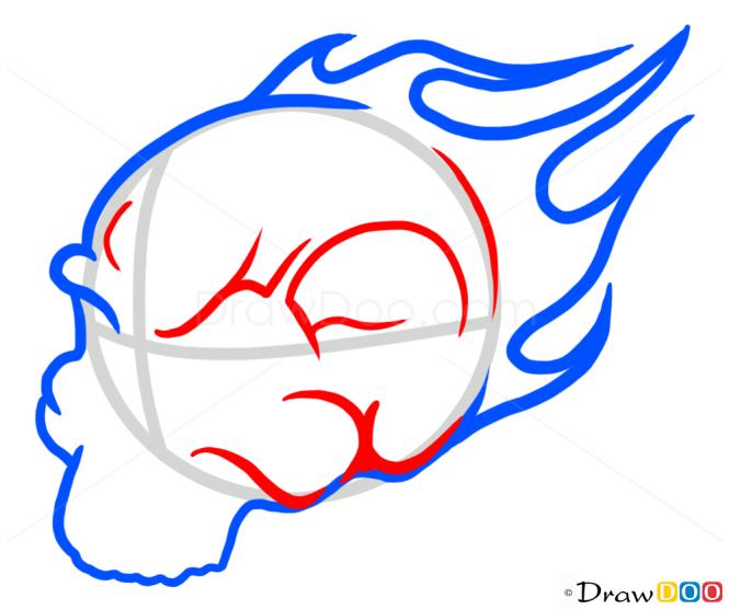 How to Draw Rider Skull, Tattoo Skulls