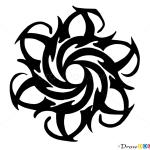 How to Draw Tribal Tattoo #1, Tribal Tattoos