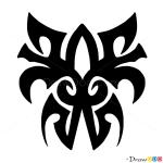 How to Draw Tribal Tattoo #3, Tribal Tattoos