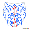How to Draw Tribal Tattoo #3, Tribal Tattoos