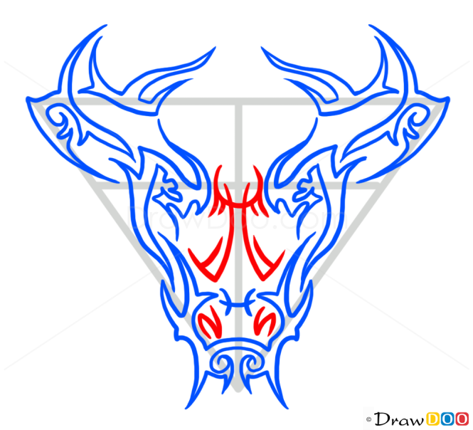 How to Draw Deer, Tribal Tattoos