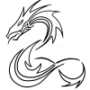 How to Draw Dragon, Tribal Tattoos