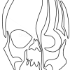 How to Draw Zombie Skull, Tribal Tattoos
