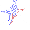 How to Draw Mystic Sign, Tribal Tattoos