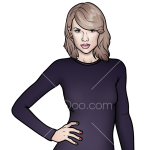 How to Draw Taylor 2, Taylor Swift
