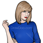 How to Draw Taylor 6, Taylor Swift
