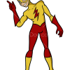 How to Draw Kid Flash, Teen Titans