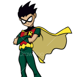 How to Draw Robin, Teen Titans