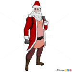 How to Draw Santa Claus, Temple Run