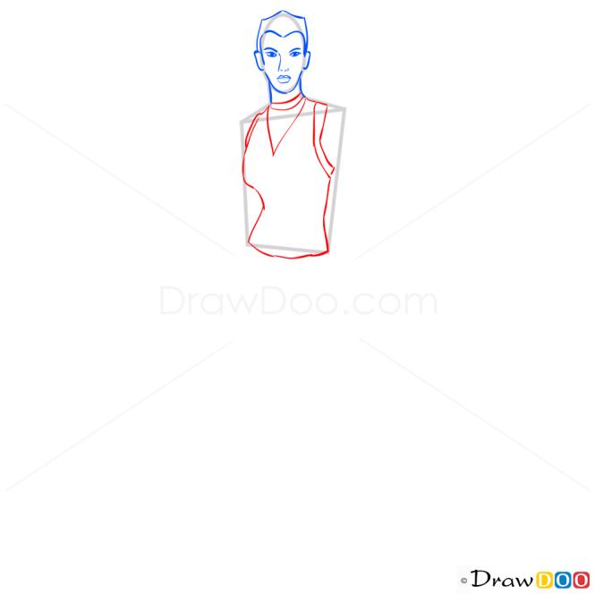 How to Draw Scarlett Fox, Temple Run