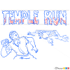 How to Draw Temple Run, Temple Run